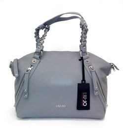 SHOPPING BAG GRIGIA LIU JO