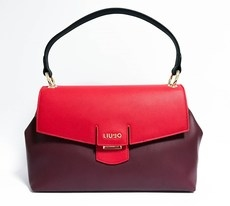 SHOPPING BAG INTERCAMBIABILE BORDEAUX LIU JO