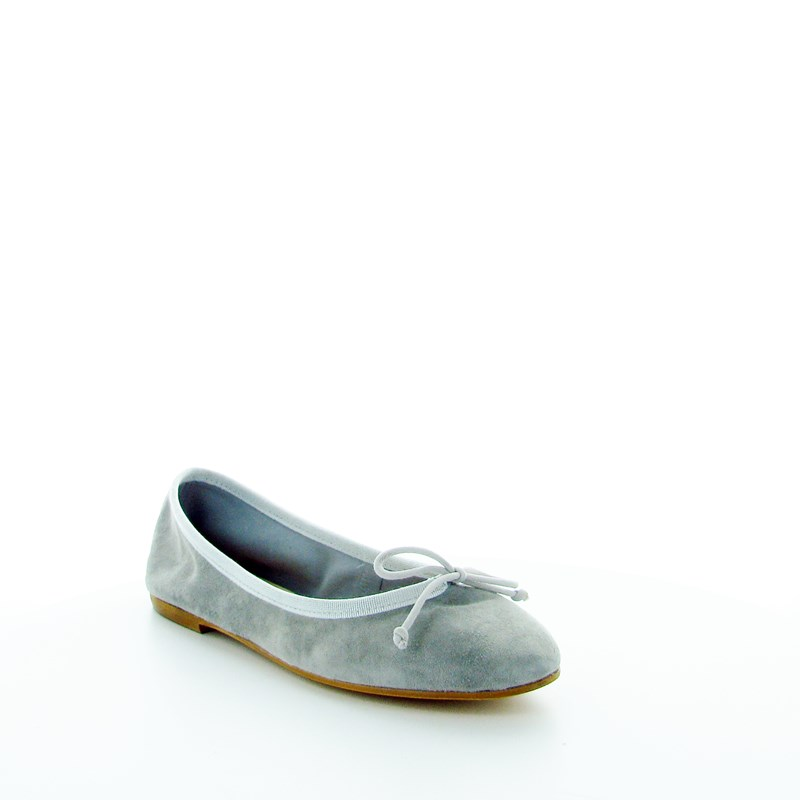 PAPERINA DONNA IN CAMOSCIO GRIGIO LOOK.IT | Arduino Shoes